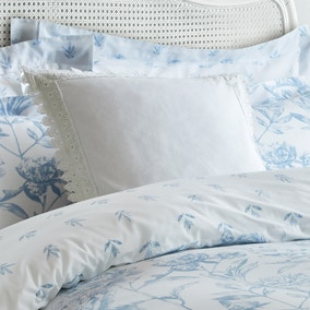 Holly Willoughby White Lace Edged Square Cushion