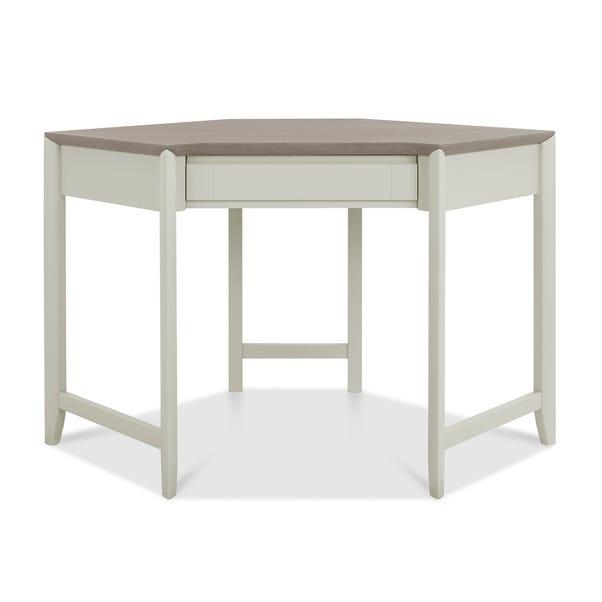 Bergen Corner Desk Grey