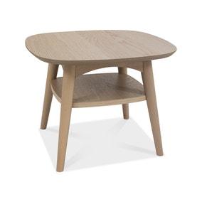 Dansk Lamp Table with Shelf