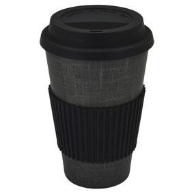 Bamboo Monochrome 475ml Travel Mug