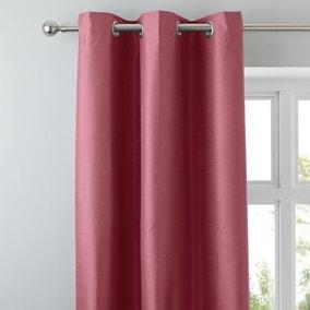 Nova Fuchsia Blackout Eyelet Curtains