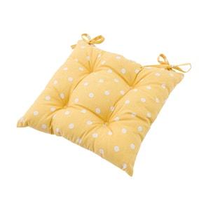 Dotty Yellow Seat Pad