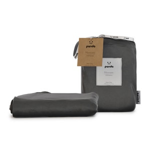 Panda Bamboo Urban Grey Pillowcase Pair