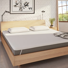 Panda Bamboo Memory Foam Mattress Topper
