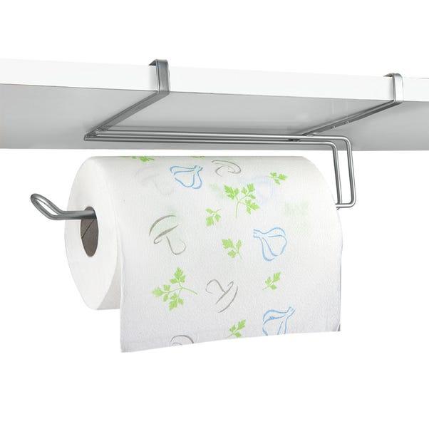 Metaltex EasyRoll Undershelf Kitchen Roll Holder Silver