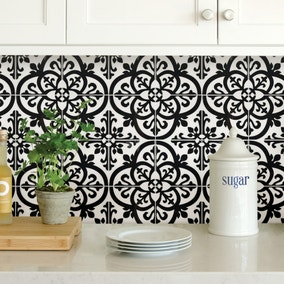 InHome Avignon Self Adhesive Backsplash Tiles