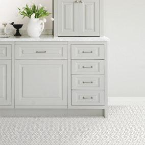Floorpops Lattice Self Adhesive Floor Tiles