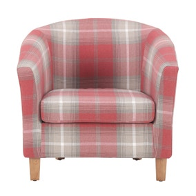 Castlebay Tub Chair - Red