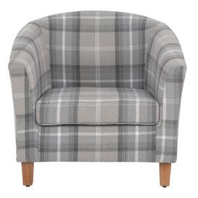 Castlebay Tub Chair - Dove Grey