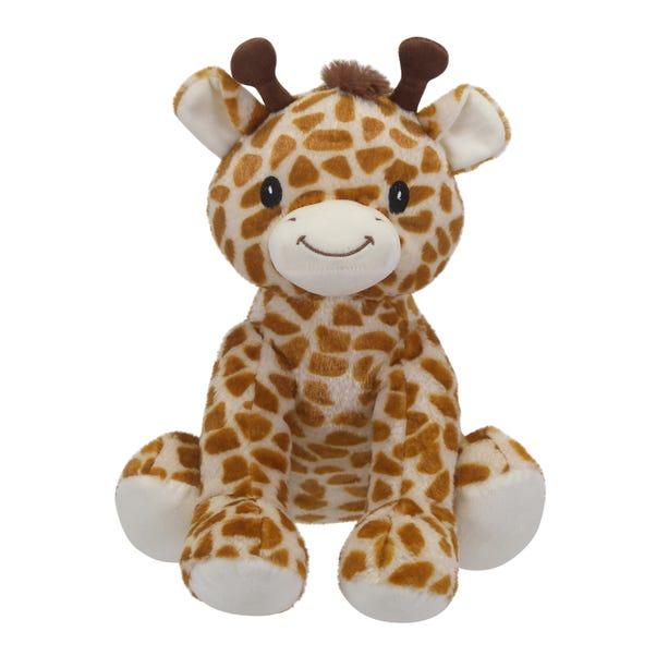 Giraffe Plush Toy Yellow