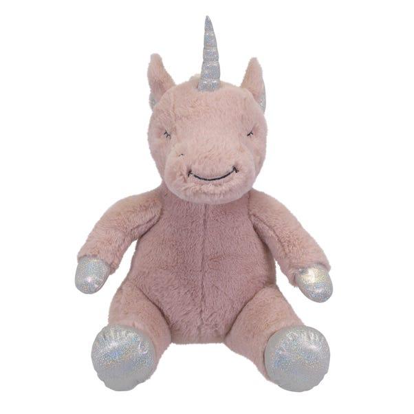 Pink Unicorn Plush Toy Pink
