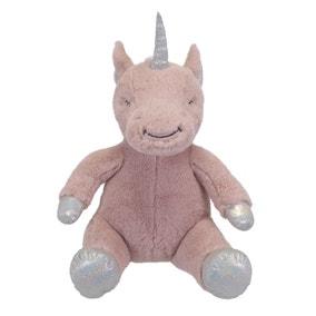 Pink Unicorn Plush Toy