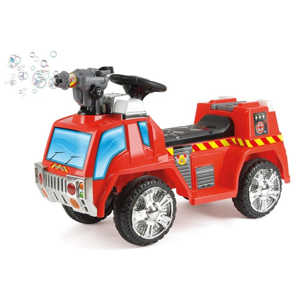 Fire Engine Electric Ride On Car Red