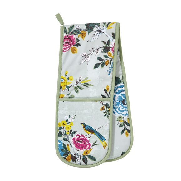 Ulster Weavers Aviary Double Oven Glove Blue
