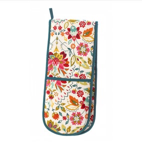 Ulster Weavers Bountiful Floral Double Oven Glove