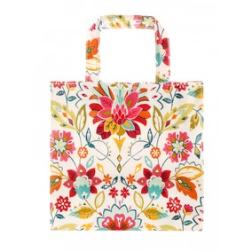 Ulster Weavers Bountiful Floral PVC Small Reusable Shopping Bag