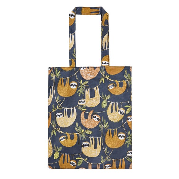 Ulster Weavers Hanging Around Oilcloth Medium Lunch Bag Blue