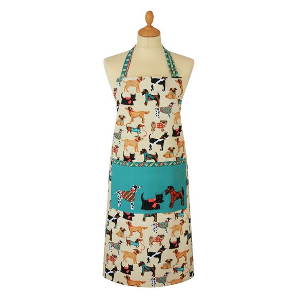 Ulster Weavers Hound Dog Cotton Apron Natural