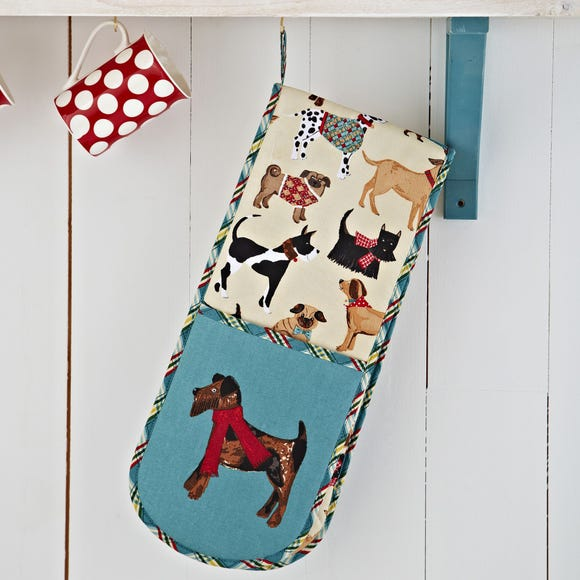 Ulster Weavers Hound Dog Double Oven Glove Natural