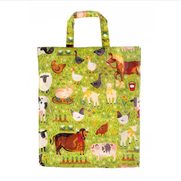 Ulster Weavers Jennie's Farm PVC Medium Reusable Bag Green
