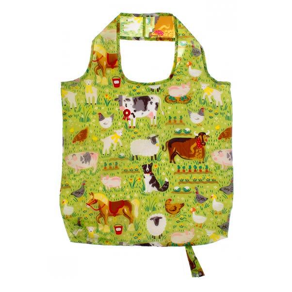 Ulster Weavers Jennie's Farm Reusable Shopping Bag Green