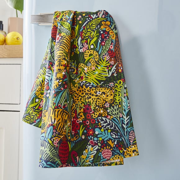 Ulster Weavers Menagerie Cotton Tea Towel MultiColoured