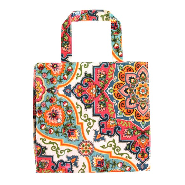 Ulster Weavers Moroccan Tiles Small PVC Reusable Bag Pink
