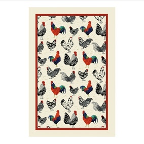 Ulster Weavers Rooster Cotton Tea Towel