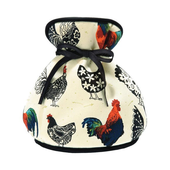Ulster Weavers Rooster Muff Tea Cosy Off-White