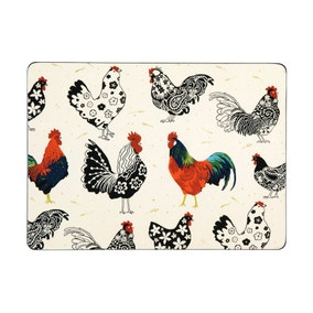Ulster Weavers Rooster Set of 4 Placemats