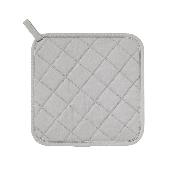 Ulster Weavers Silicone Grey Pot Mat Grey
