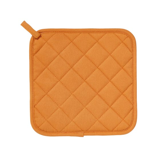 Ulster Weavers Silicone Orange Pot Mat Orange