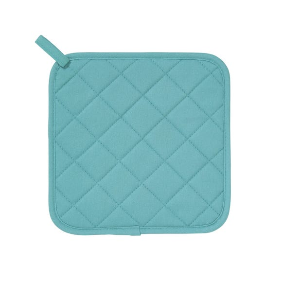 Ulster Weavers Silicone Teal Blue Pot Mat Blue
