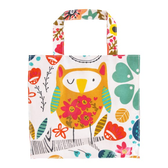 Ulster Weavers Twit Two PVC Small Reusable Bag MultiColoured