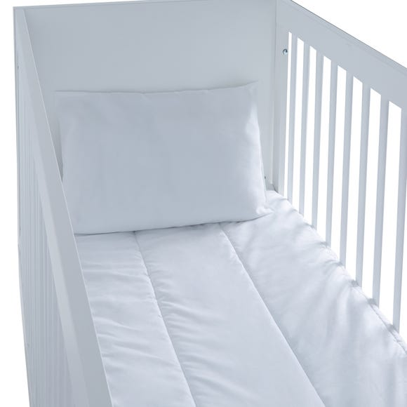 Fogarty Little Sleepers Lullaby Lavender Scented Cot Bed Pillow White