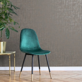 Romano Metallic Textured Silver Wallpaper
