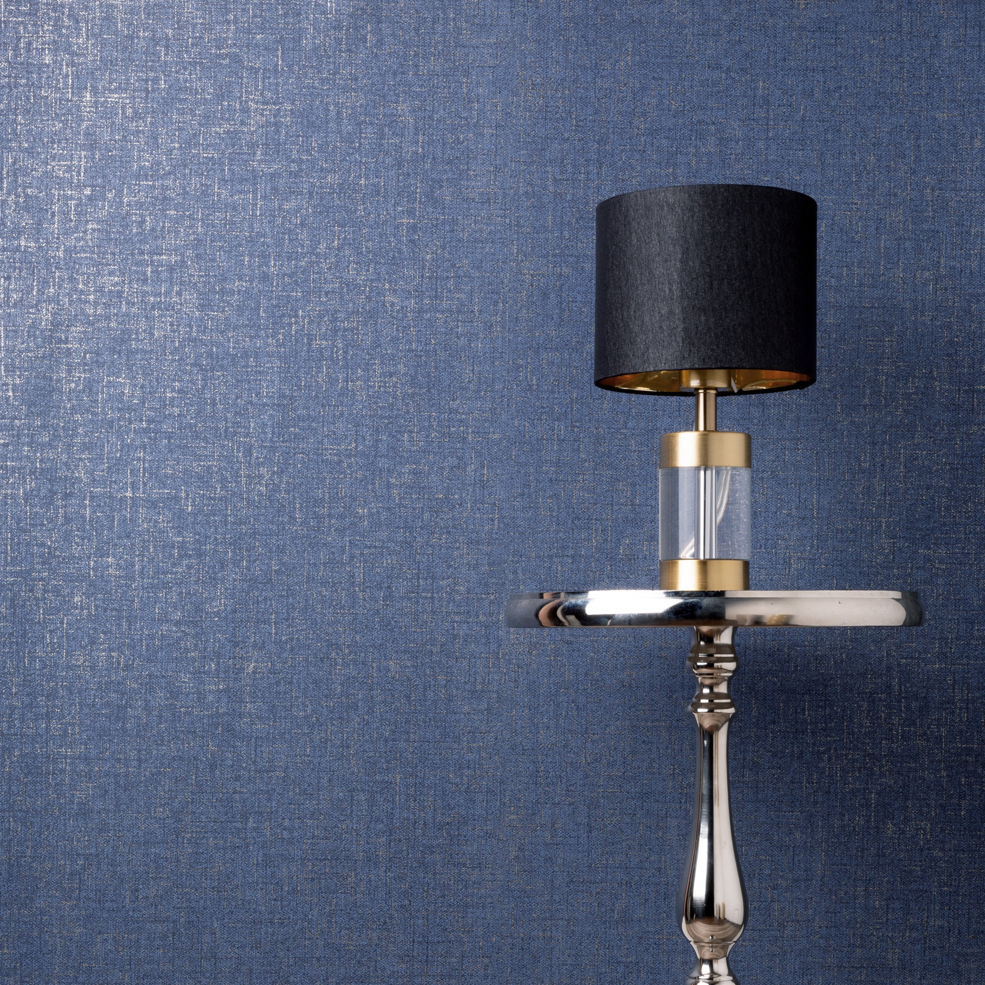 Click to view product details and reviews for Cara Textured Navy Wallpaper Navy.