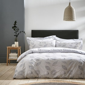 Bianca Cotton Makura 100% Cotton Duvet Cover and Pillowcase Set