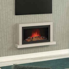 Elyce Wall Mounted Cashmere Electric Fire