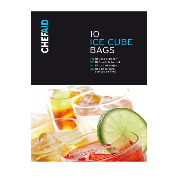 Chef Aid Ice Cube Bags Dunelm