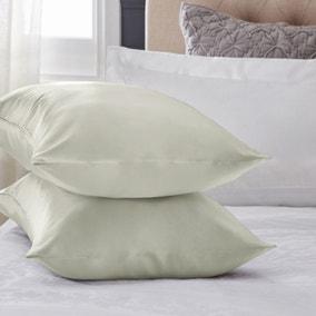 Dorma Ivory Silk Pillowcase