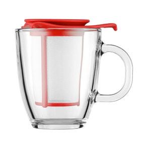 Bodum Yo Yo Red Mug Tea Strainer