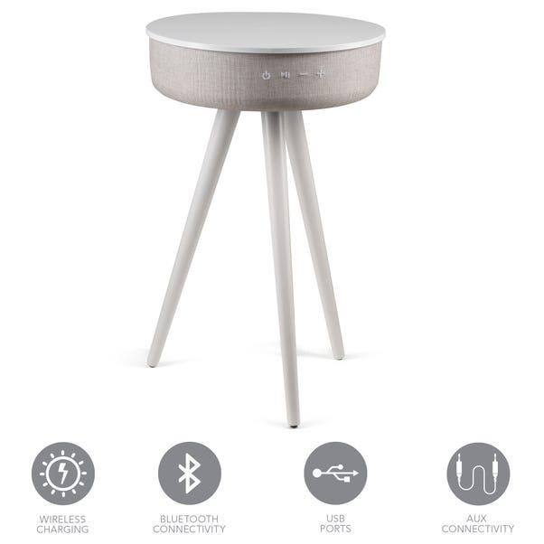 Milo Smart Side Table White