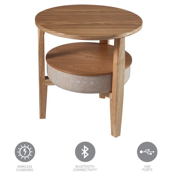 Kobe Smart Side Table Natural