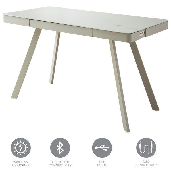 Koble Silas Grey Smart Desk