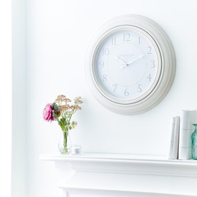Churchgate Clock Cream 50cm