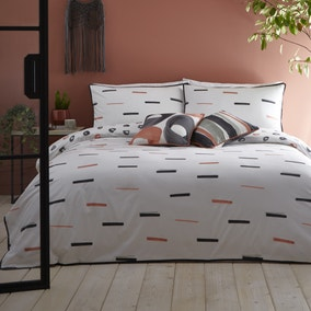 Appletree Tenley 100% Cotton Reversible Duvet Cover and Pillowcase Set