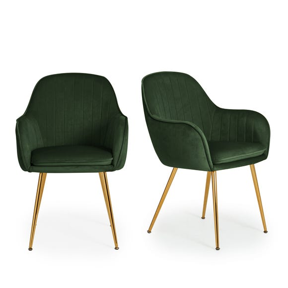 Laila Set Of 2 Dining Chairs Dunelm