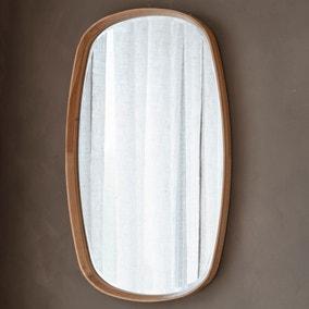 Keaton Oak Mirror