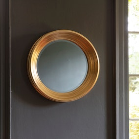 Chaplin Gold Round Mirror